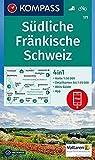 Südliche Fränkische Schweiz: 4in1 Wanderkarte 1:50000 mit Aktiv Guide und Detailkarten inklusive Karte zur offline Verwendung in der KOMPASS-App. ... 1:50 000 (KOMPASS-Wanderkarten, Band 171) -