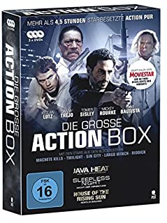 Die große Action Box - 3 actiongeladene Filme in einer Box (House of the Rising Sun, Java Heat, Sleepless Night) [3 DVDs]