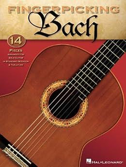 Fingerpicking Bach Songbook de [Hal Leonard]