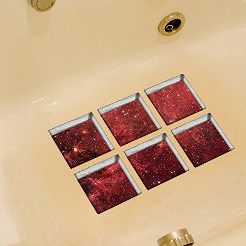 ungfu-mall-pag-6pcs-13-x-13-cm-de-cielo-estrellado-patron-3d-antideslizante-resistente-al-agua-baner