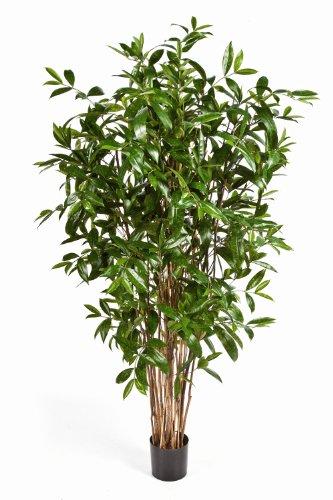 artplants – Künstliche Dracaena Surculosa Simba, 1150 Blätter, grün, 180 cm – Künstliche Zimmerpflanze/Deko Dracena