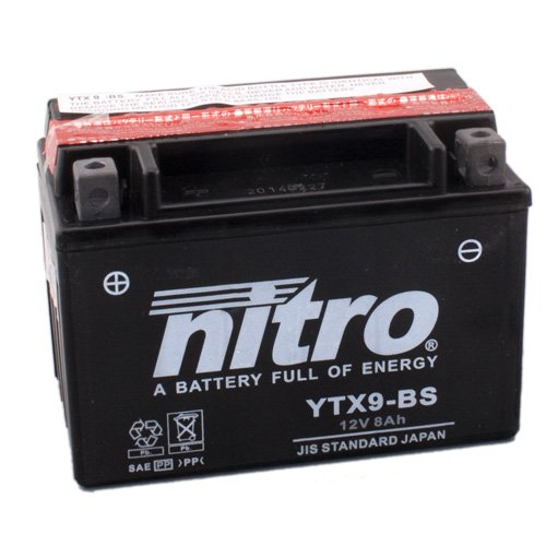 Batería de Kyoto Nitro BS, 12V/8Ah (tamaño: 150x 87x 105) para Suzuki...