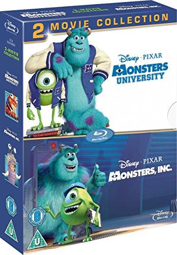 Monsters University & Monsters Inc. [Blu-ray] [UK Import]