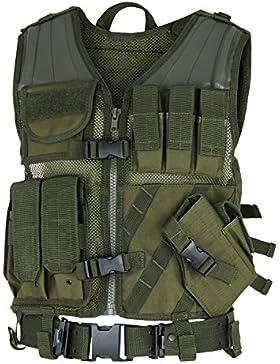 USMC Einsatzweste Tactical Weste mit Koppel - verschiedene Farben zur Auswahl