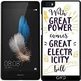 Hülle für Huawei Ascend P8 Lite - Energie-Leistung Strom