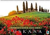 Impressionen aus der Toskana (Wandkalender 2018 DIN A2 quer): Bezaubernde Hügel, Haine und Weingärten (Monatskalender, 14 Seiten ) (CALVENDO Orte) [Kalender] [Apr 01, 2017] CALVENDO, k.A.