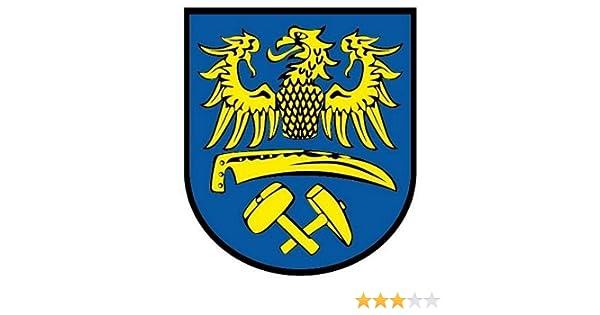 Aufkleber Bogen Niederschlesien Sticker Flagge Fahne