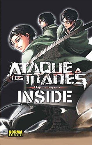 Ataque a los titanes inside (Shonen Manga (norma))