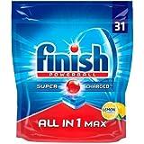 Finition All in One Max Citron tablettes pour lave-vaisselle, Lot de 155