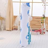 Piazza Cat Doll cilindriche cuscini peluche bambole di sonno del cuscino staccabile ( dimensioni : S. )