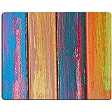 Liili alfombrilla de ratón alfombrilla de ratón de goma natural colorido madera rayas imagen ID 22933186