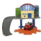Dickie Toys 203099618 - Autorennbahn, Feuerwehrmann Sam