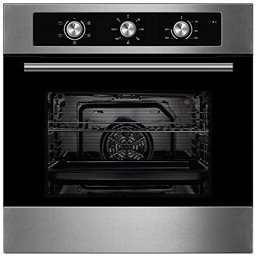 51oPy94lnzL. SS500  - Cookology Built-in Electric Fan Forced Oven & 60cm Touch Control 4 Zone Induction Hob Pack (Stainless Steel)
