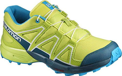 Salomon Speedcross J Lime Punch Reflecting Pond Hawaiian Ocean Vert