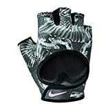 Nike Damen Womens Printed Gym Ultimate Fitness Gloves 947 Handschuhe, Black/Anthracite/Stor, S