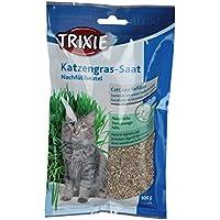 Hierba para gatos con bandeja TRIXIE 100grs.