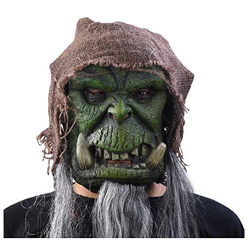 Maske YN Halloween Warcraft Anime Mann Weibliche Horror Ball Erwachsene COS Latexmaske Kopf Abdeckung Film Gudell