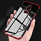 #10: Oneplus 6 Cases - Amozo Royale Series Electroplated All Sides Protection Transparent Back Case Cover for One Plus 6 (Royale Red)