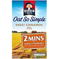 Quaker Avena Tan Simple Dulce De Canela 10 X 33g