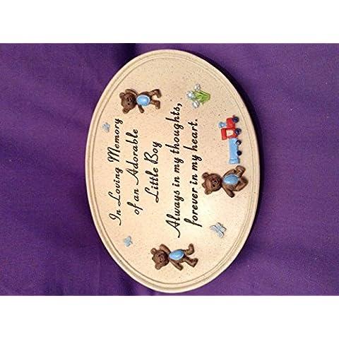 Childs PLACCA commemorativa in memoria di un adorabile bambino