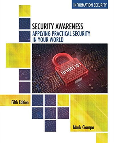 Read PDF Security Awareness Applying Practical In Your World Mindtap Course List Ebook Library By Mark Ciampa