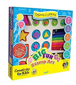 Buy Faber Castell Creativity For Kids Big Fun Stamp Art Kit Online At Low Prices In India