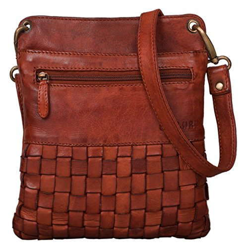 a63cb82d869ae STILORD  Sophie  Schultertasche Damen klein Leder Handtasche moderne  Umhängetasche geflochten.