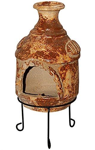 Kaminero Mexiko Terrassenofen Aus Ton Gartenkamin Holz Ofen