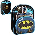 Batman Children's Backpack Batman Novelty Backpack 8.5 liters Black (Blue/Black) BATMAN001018