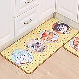 HIUGHJ Tapis 30 Styles 2019 New Cartoon Cat Carpet, The Sitting Room La carpette, Couloir de la Chambre à Coucher, Salle de Bain Les Tapis de Cuisine.