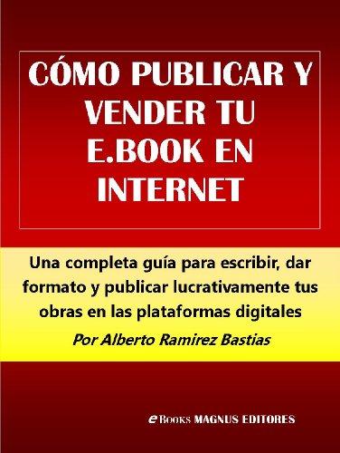 Portada del libro Cómo publicar y vender tu e-Book en Internet