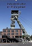Industriekultur im Ruhrgebiet (Wandkalender 2018 DIN A2 hoch): Zechen und Ihre Faszination (Monatskalender, 14 Seiten ) (CALVENDO Technologie) [Kalender] [Apr 01, 2017] Gerlach, DY