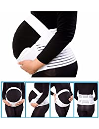 Pregnancy Support Belt | Pregnancy Belly Band | Pregnancy Back Bump Belt| Maternity Support Bump Waist Brace | Pregrant Relief Back Pain | Pregrant Protect Baby | Big belly