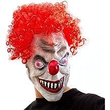 Horror Clown maschera, maschera da clown 3/4, maschera in lattice di IT
