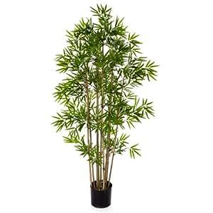 Bambou artificiel 480 petites feuilles 80 cm plante for Plante 70 cm