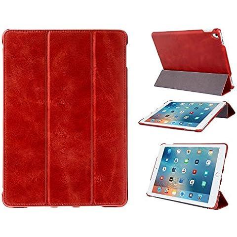 Funda Smart Cover FUTLEX en piel auténtica estilo vintage para el iPad Pro (9.7