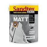 Sandtex Maueranstrichfarbe Schnell trocknend Trade fein strukturiertem matt außen Lösung Mauerwerk lackiert beige 5L