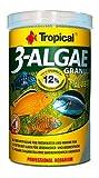 3-algae Gran 250ml/95g langsam sinkend Granulat, Lebensmittel Reich an Algen für den täglichen Füttern von Süß- und Marine Fisch