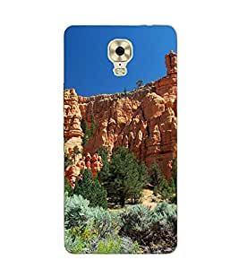A2ZXSERIES Nature View Mountain Back Case Cover for GIONEE M6 PLUS