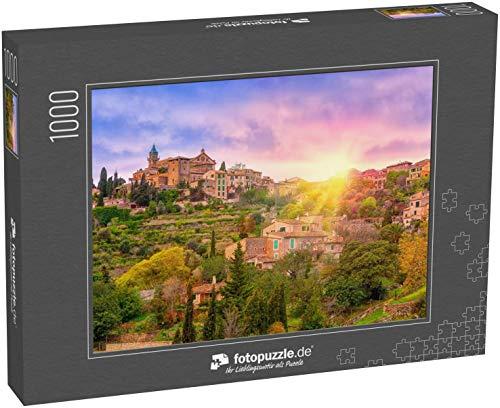 Puzzle 1000 Teile Sonnenaufgang im Valdemossa-Tal, Mallorca, Spanien - Klassische Puzzle, 1000/200/2000 Teile, in Edler Motiv-Schachtel, Fotopuzzle-Kollektion \'Spanien\'