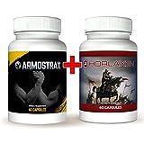 Horlaxen & Armostrax Kombi-Paket: Scheller, effizienter Muskelaufbau plus extremer Booster f�r mehr Kraft, Ausdauer und Leistungsverm�gen Bild