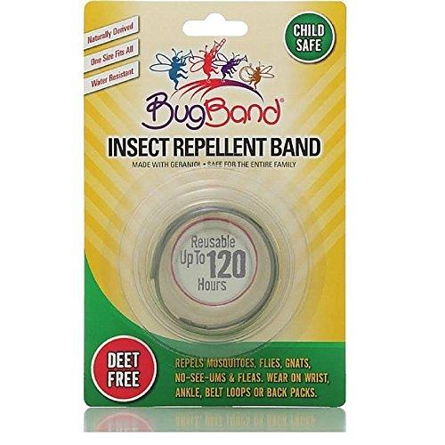Band Bug original verde Pulsera Repelente de Insectos