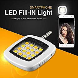 Utronix Selfie LED Flash Light for All Smartphones (Branded with warranty)