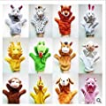 Liroyal Chinese zodiac animal hand puppets children's doll