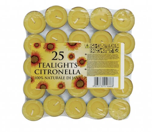 PRICES CITRONELLA TEALIGHTS PACK OF 25 [1] -