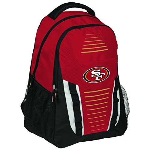 NFL Team Logo Streifen Franchise Rucksack, San Francisco 49ers