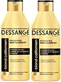 Dessange - Blond Californien Shampooing Nutri-Illuminant Pour Cheveux Blonds, Colorés Ou Fortement Eclaircis - 250 ml - Lot de 2