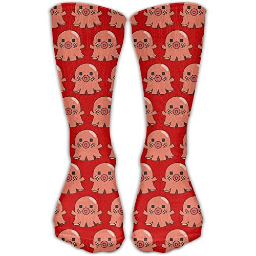 Octopus Hot Dog Novelty Cotton Crew Socks Fashion Ankle Dress Socks For Men&Women
