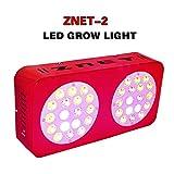 ZNET2 150W Spettro Completo Lampade per Piante Led Grow Light lluminazione Piante Interno Luce del Sole Spettro Completo Grow Tent Verdura immagine