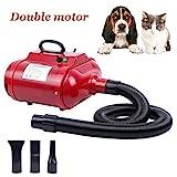 Yonntech 2800W specialità peli di Cane asciugacapelli Pet Grooming Bathing Soffiatore Phon Asciugatrice Riscaldatore per Animale Domestico/Cani / Gatti